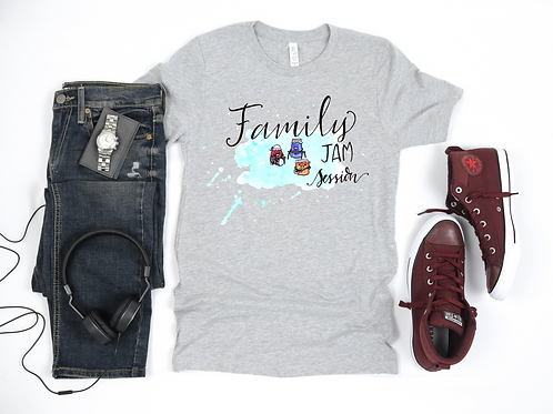 Family Jam Session T-shirt