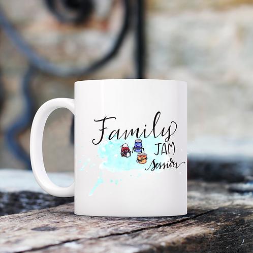 Family Jam Session Mug