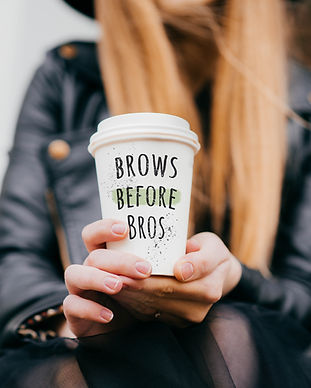 Take Away Coffe Cup with Cute Message