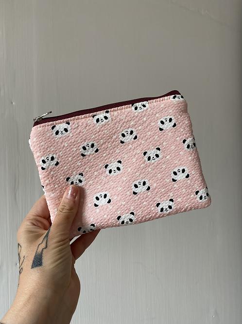 Pochette 19x14 rosa panda