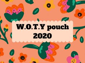 W.O.T.Y. pouch 2020