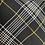 Thumbnail: ROMPERINO - tutina tartan nero righina gialla