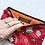 Thumbnail: Pochette 22x15 rossa Hello Kitty