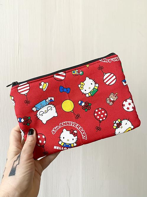 Pochette 22x15 rossa Hello Kitty