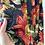 Thumbnail: Top BOXY blu fiori macro