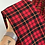 "Thumbnail: ""Not Your Doll"" rosso tartan"