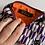 Thumbnail: Pochette 19x14 viola maneki neko