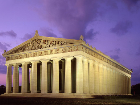 Wesley Paine–Volunteering at the Parthenon