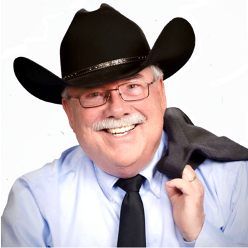 Ed Zinkiewicz picture with his favorite cowboy hat!