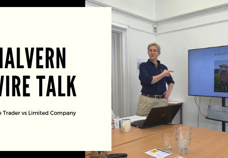 Malvern WIRE Talk - Sole Trader vs Limited Company