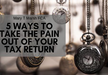 Personal Tax returns for the self-employed - SATR's 5 ways to take the pain out of your tax return
