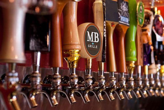 MB Grille Beer Taps