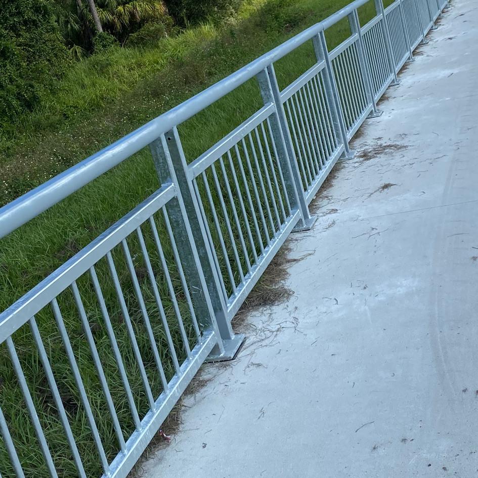 Ped/Bicycle Railing