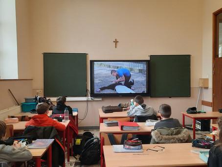 Le cours d'éducation physique en mode covid