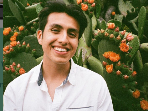The Voice of @queerbrownvegan