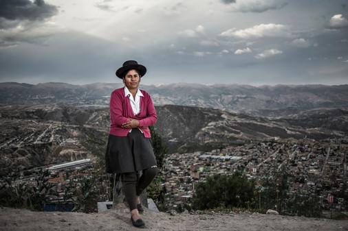 Ayacucho lady