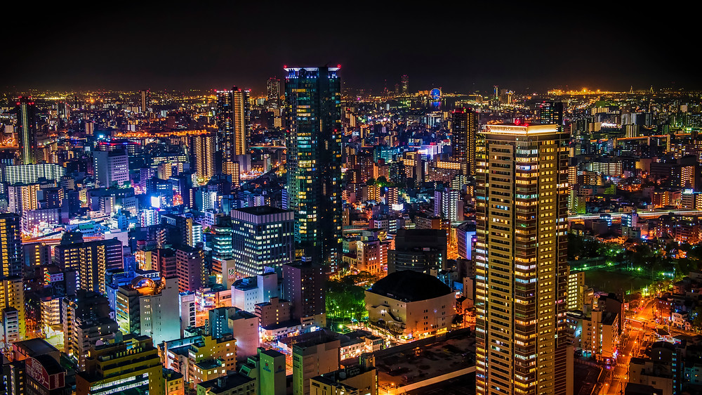 Osaka by night -  © BrianDecrop