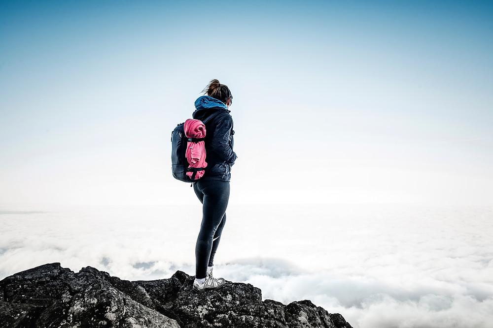 Descending Mount Pico