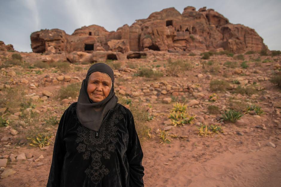 Bedouin granny