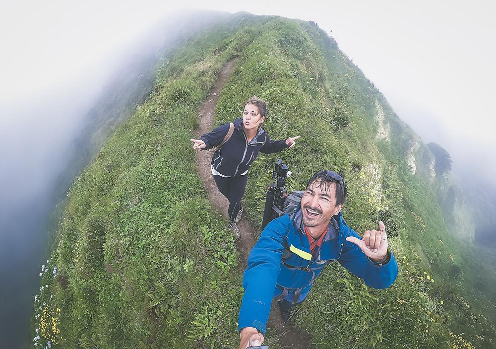 Azores: Maaike & Brian