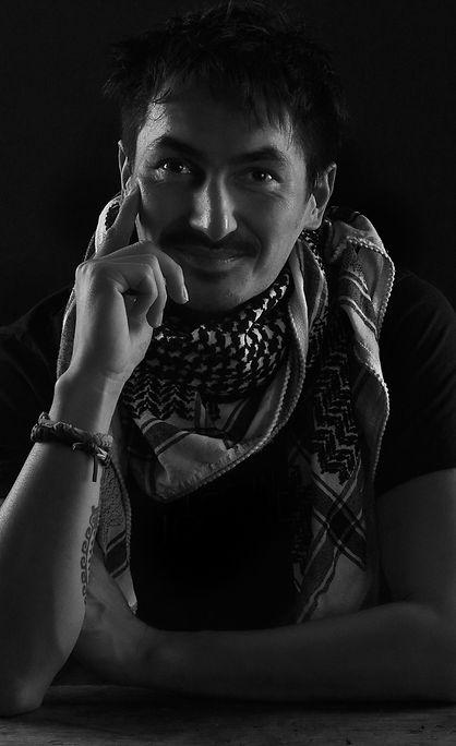 Photographer Brian Decrop - portrait by Myra De Grim