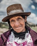 Peruvian peasant woman