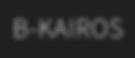 Logo Bart Smets - B-kairos