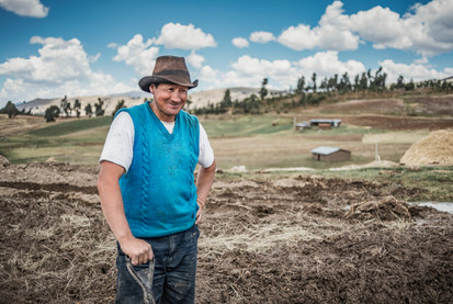 A farmer and his landscape