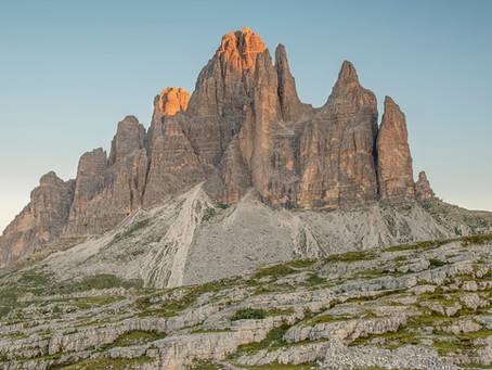 My favourite stop: 'The Dolomites'