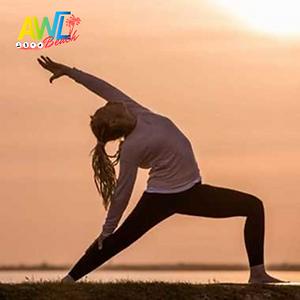 yoga posture soleil