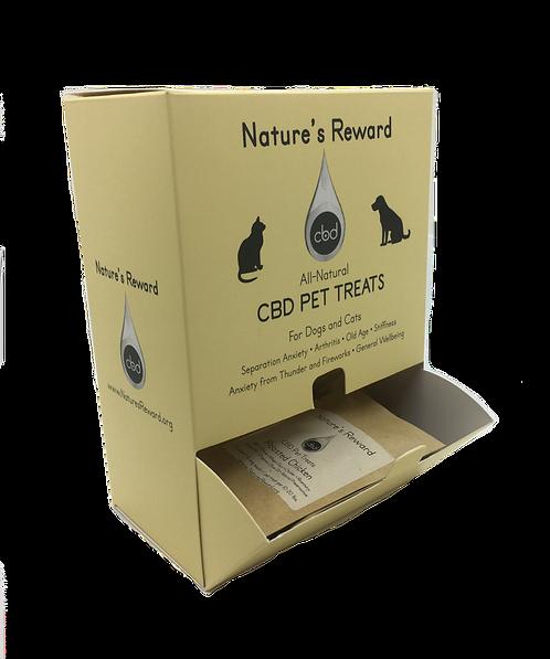 Dispenser for CBD Pet Treats
