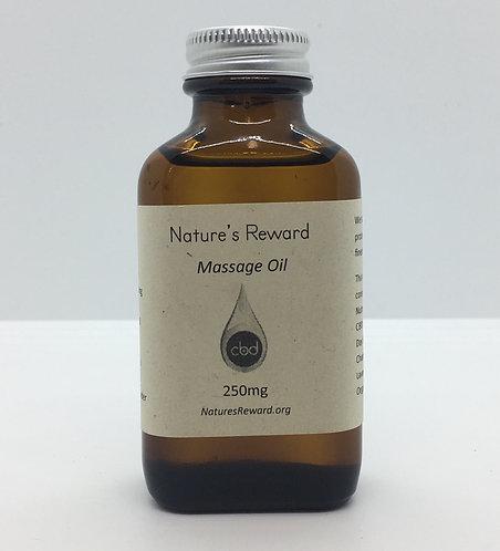 CBD Massage Oil 250mg - 3 oz