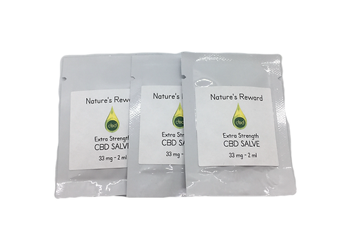 Sample CBD Salve 3 pack
