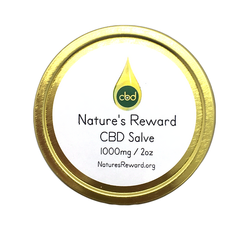 CBD Salve 1000mg - 2 oz