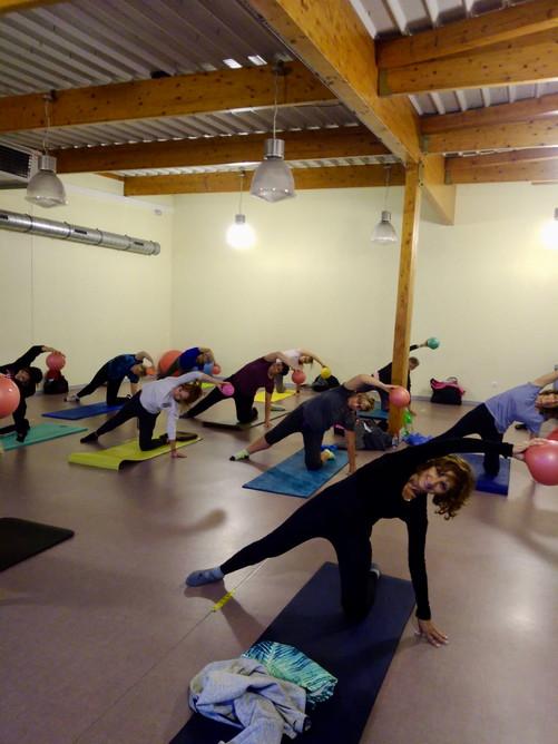 Cours de pilates pour débutant