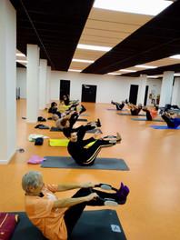 Cours collectif de pilates en Alsace