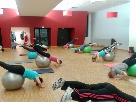 Pilates - Exercices avec le Ballon