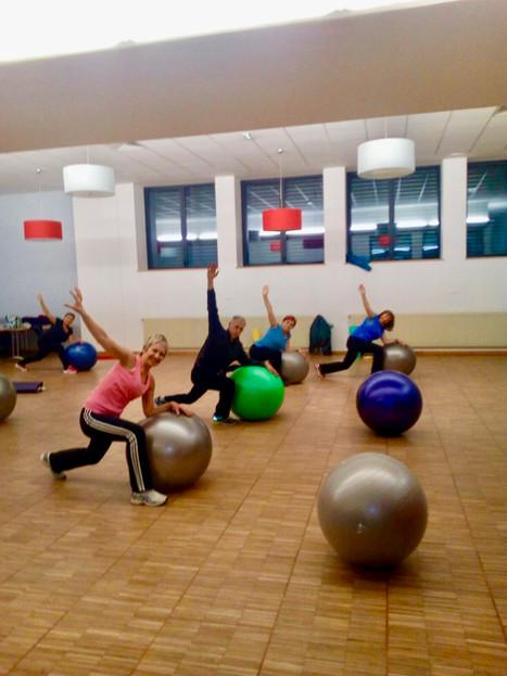 Pilates & gros ballon