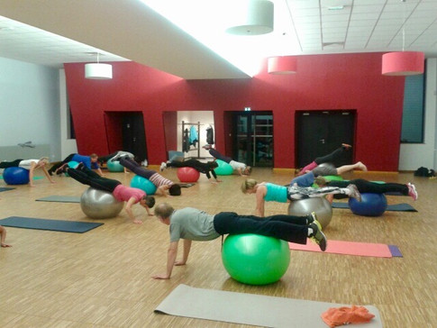 Pilates - Exercices avec Ballon