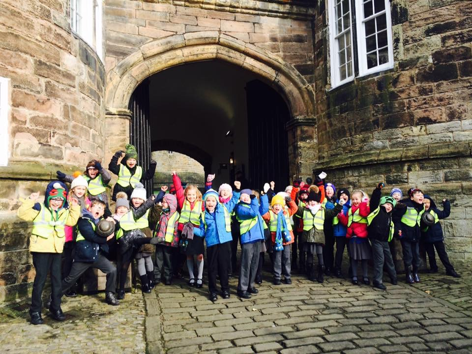 Year 2 at Skipton Castle Feb 2017