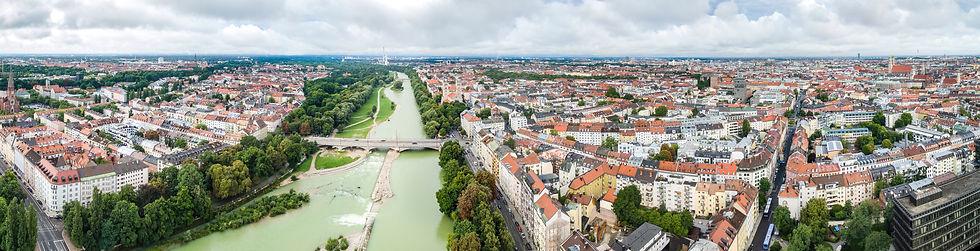 Aerial View Munich Germany Isar.jpg
