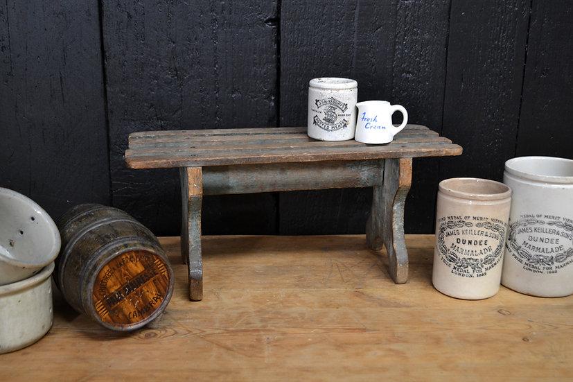 Rustic milking stool