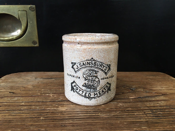 Sainsbury's potted meat pot