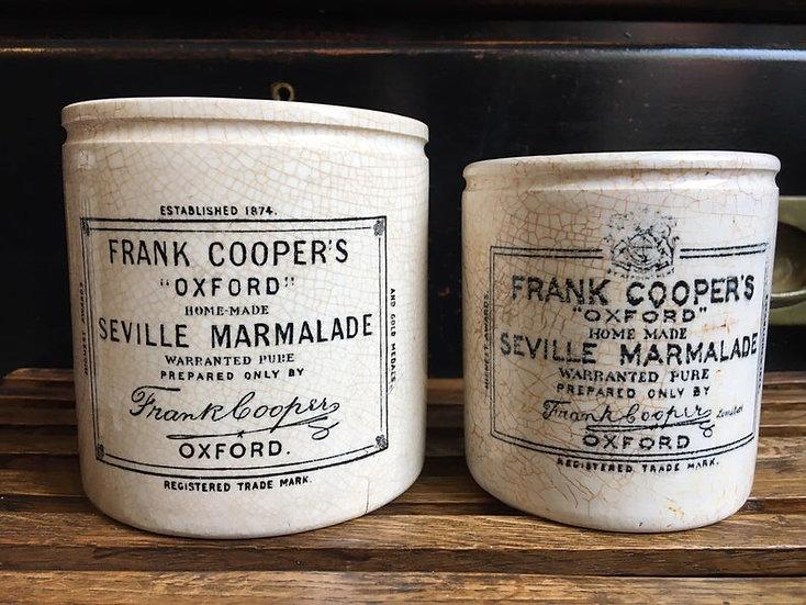 1x Antique 2lb Frank Cooper marmalade pot