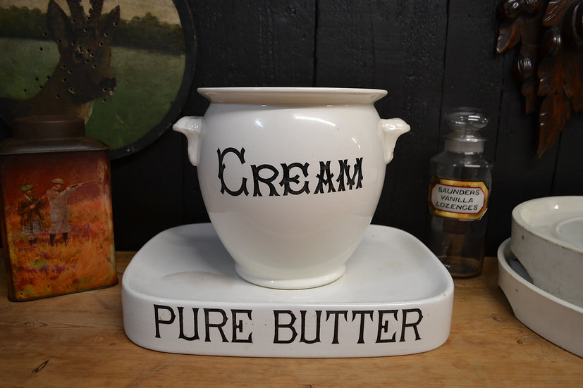 Small Antique Cream Pail - Dairy Supply Co.