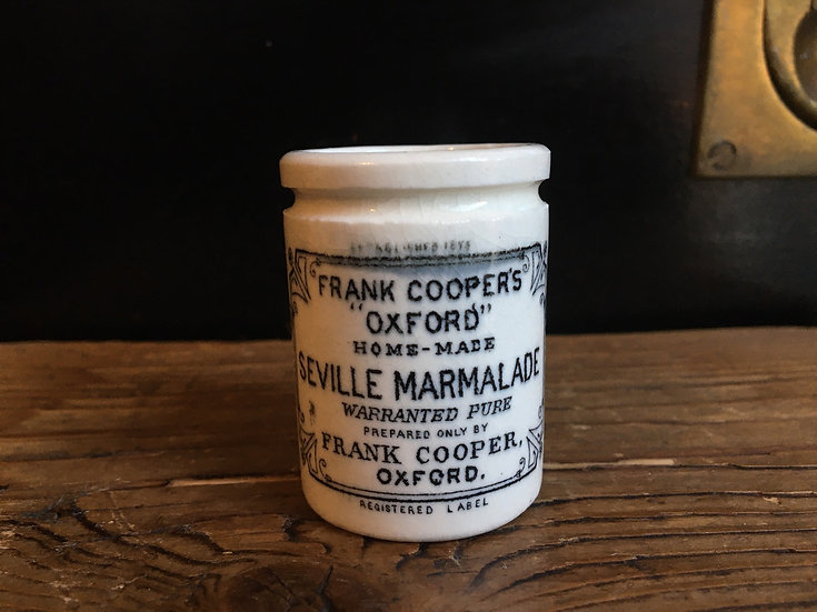 Mini 'Buffet Car' Frank Cooper marmalade pot