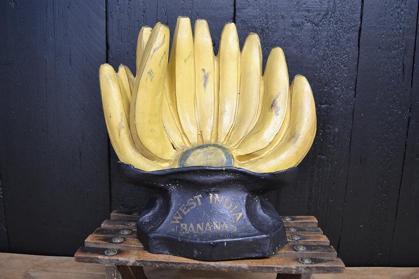 'West India Bananas' counter top display