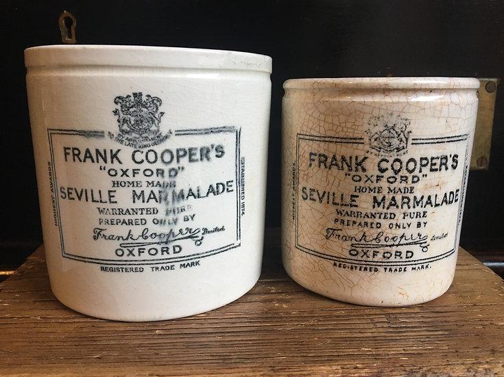 1x Large 2lb Frank Cooper marmalade pot