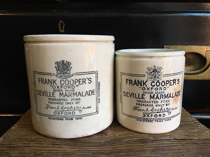 1x Antique XL 2lb Frank Cooper marmalade pot