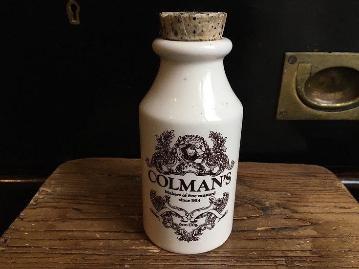 Colmans mustard pot - the mustard shop pot